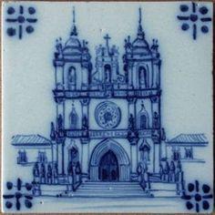 """Colecção """"Mosteiro de Alcobaça"""" em azulejo manual tradicional português. de AZULEJO TRADICIONAL MANUAL"""
