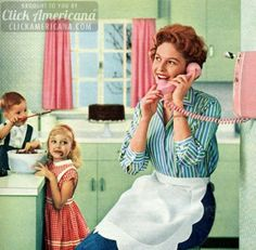 Retro Vintage How to be a perfect fifties housewife: In the kitchen - A lighthearted look back at the housewife during the sunny days of yesteryear, when a woman's home was her castle -- and her kitchen was the heart of that home.