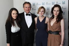 Lord Crawley & daughters