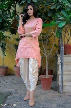 Kurti set: price variable free COD Price variable: Enquiry and booking on Cash on Delivery avai. Simple Kurta Designs, Stylish Dress Designs, Kurta Designs Women, Stylish Dresses, Simple Pakistani Dresses, Indian Gowns Dresses, Pakistani Dress Design, Designer Party Wear Dresses, Kurti Designs Party Wear