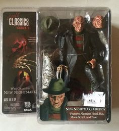 New Nightmare Freddy Krueger Action Figure Cult Classics Series 2 Reel Toys #NECA