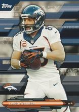 2014 Topps Fantasy Strategies #FFS-WW Wes Welker, Denver Broncos