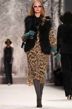 Animal Print Winter Fashion
