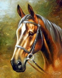 Brahinsсkiy Arthur - 'Head of Red Horse'