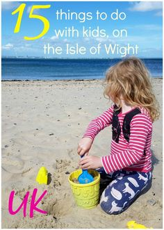 My 15 things to do on the Isle of Wight with kids: from how to find dinosaurs to rainy day activities, tips for toddlers & where to make the best sandcastle Days Out With Toddlers, Holidays With Toddlers, Summer Fun List, Summer Kids, Travel With Kids, Family Travel, Rainy Day Activities, Indoor Activities, Summer Activities