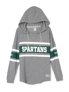 Michigan State University Varsity Pullover Hoodie - PINK - Victoria's Secret