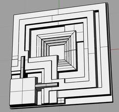 I. Lässt sich im Zeitalter einer zunehmenden Unsichtbarkeitmachung von Technologie durch Miniaturisierung und Virtualisierungdiese Technik überhaupt noch gestalten und repräsentieren? (Blade Runner: Deckard wall tile in 3D)