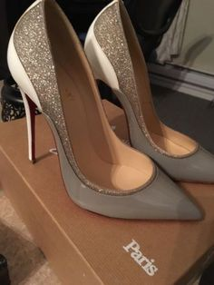 # NEW Christian Louboutin Tucsick 120 Patent Pump Heels 36.5 6.5 6 Pigalle So Kate