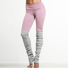 Ribbed yoga leggings are now trending, as they offer a unique look that has yet to hit the main stream market. Fans across the web are absolutely loving them and we wanted to bring them to you so that you can be one of the first to enjoy them too! The ribbed feature at the bottom is a light gray color that almost resembles leg warmers from a distance. The elastic waist and spandex material provide a sense of flexibility as you participate in yoga class, acrobatics, dance and more! Grab these…