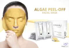 Are you looking to firm, rejuvenate, regenerate & sooth your skin? Use the Algae Peel-Off Facial Mask by Casmara!