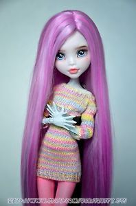 Monster High Doll OOAK Repaint Lagoona Blue by Annashrem | eBay