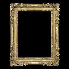 Louis XIV coin fleuri en bois sculpté doré à l'or fin, patine à l'ancienne. Ce modèle peut être doré à la feuille d'argent.  Référence 255 et 256 selon la largueur de moulure.  Largueur de moulure 30mm (réf 255) et 65mm (réf 256).  Louis XIVth carved wood gilded with gold leaf, old patina. This model could be gilded with silver leaf.  References 255 and 256 depending on trim width.  Trim width 35mm (ref 255) and 65mm (ref 256).  © Atelier Garnier