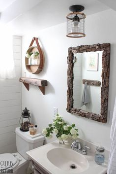 Tiny Bathroom Makeover - Before and After | Hometalk