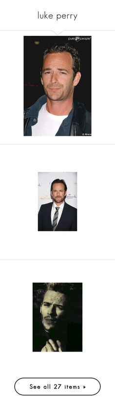 """luke perry"" by thekingdomofbohemia ❤ liked on Polyvore featuring home, home decor and wall art"