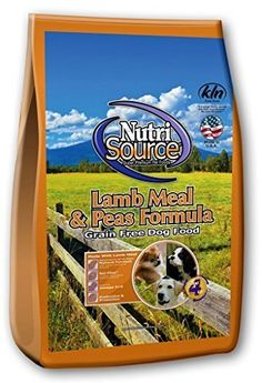 Tuffy's Pet Food NutriSource Grain Free Lamb Formula Dry Dog Food, 30-Pound -- Check out this great product.