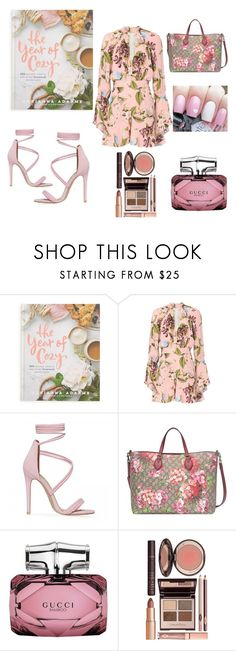 """Untitled #215"" by sabii-dlii ❤ liked on Polyvore featuring Macmillan, Nicholas, Gucci and Charlotte Tilbury"