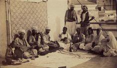 The Qaada, Musical Meeting in  Algiers , Eugene Disderi,1860