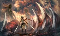 Attack On Titan HD Wallpapers Backgrounds Wallpaper