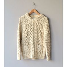 NEW! 1960s Andion wool cable knit sweater  med by deargolden