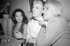 Ronnie, David and Iggy