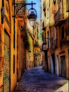 walking Barcelona, Catalonia