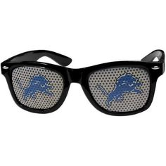 Detroit Lions NFL Game Day Sunglasses