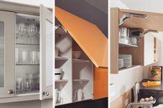 Wiecie na ile sposobów mogą otwierać się górne szafki kuchenne? Do góry na specjalnych podnośnikach łamanie... Z biegiem lat pojawiło się wiele nowoczesnych opcji - możliwości są różne w zależności od potrzeb funkcjonalnych i estetycznych. Sprawdźcie  nasze rady odnośnie tego czym kierować się przy wyborze kuchennych górnych szafek. LINK W BIO