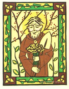 St. Fiacre - Patron Saint of Gardeners
