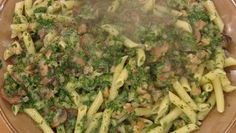 Florentine Penne with Chicken- Saw this on Rachel Ray today and it looked yummy! Yummy Chicken Recipes, Turkey Recipes, Pasta Recipes, New Recipes, Dinner Recipes, Cooking Recipes, Favorite Recipes, Healthy Recipes, Cooking Ideas