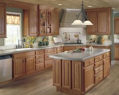 Unfinished oak cabinets, RTA, stain or paint any color for the kitchen of your dreams
