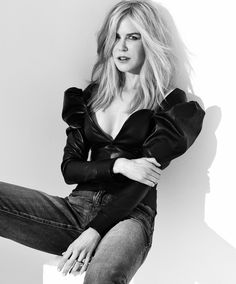 Designer Leather Fashions : Nicole Kidman