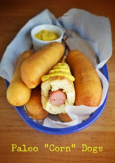 Paleo Corn Dogs! - Brittany Angell