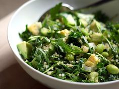 Green Goddess Quinoa by tastespotting #Green_Goddess #Quinoa #tastespotting