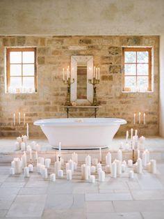 The Wedding Bath  [by Elizabeth Messina]