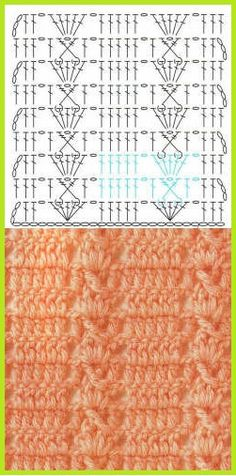 crochet stich with graph