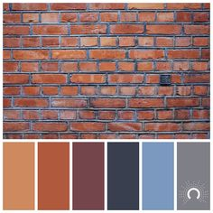 Colors That Go With Brick And Rust Google Search Interior