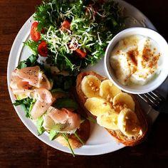 Today's breakfast #breakfast #food - @keiyamazaki | Webstagram