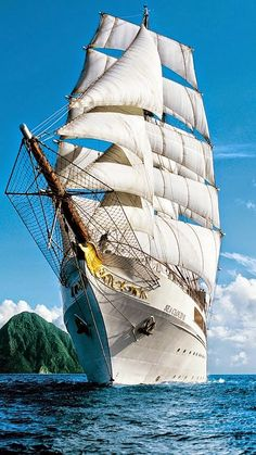 Once in a Lifetime Experience – Yacht Charter Sailing in Greece Sailboat Yacht, Yacht Boat, Bateau Yacht, Bateau Pirate, Old Sailing Ships, Sailing Boat, Full Sail, Wooden Ship, Sail Away