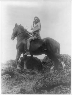 The Scout, Nez Perce  Artist:	Edward Sheriff Curtis