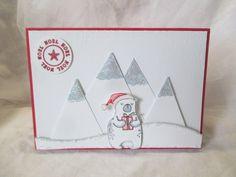 IC645 Polar Bear celebrates Christmas