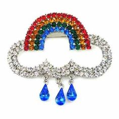 Brooches Store Rainbow and Clouds Swarovski Crystal Brooch by BROOCHES STORE, http://www.amazon.co.uk/dp/B004TA9FOE/ref=cm_sw_r_pi_dp_OJ3Vqb0HDYMV0