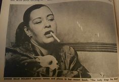 Billie Holiday, Lady Sings The Blues, You Rock My World, Bad Girl Wallpaper, Strange Fruit, Jazz Blues, My Spirit Animal, Interesting Faces, Music Love