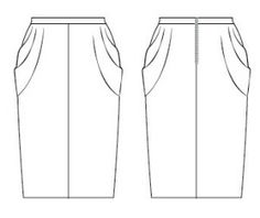 Free Cowl Skirt Pattern - Your Something New