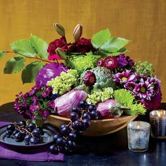 The Grocery Store Florist: The $35 Centerpiece