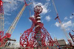 Olympische Spelen 2012: Arcelor Mittal Orbit, een driedimensionale stalen knoop