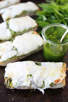 Pesto Cheese Bread Recipe