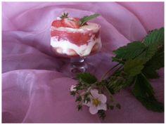 Erdbeer-Holunderblüten-Tiramisu. http://apps.facebook.com/berndes-rezepte