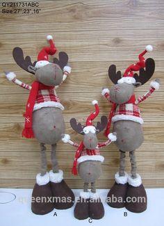 Christmas Moose, Christmas Holidays, Christmas Crafts, Christmas Ornaments, Handmade Christmas Decorations, Holiday Decor, Moose Decor, Felted Wool Crafts, Creations