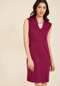 All-Out Allure Sheath Dress