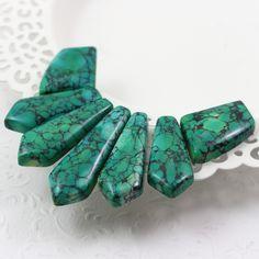 Howlit Turquoise Bracelet, Swarovski, Stone, Bracelets, Jewelry, Rock, Jewlery, Jewerly, Schmuck